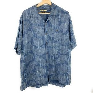 Men's Silk Tommy Bahama Button Down Short Sleeve